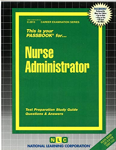 9780837329130: Nurse Administrator(Passbooks) (Passbook for Career Opportunities)