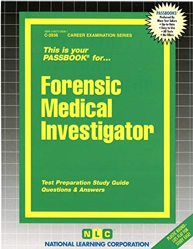 9780837329376: Forensic Scientist I (Toxicology)(Passbooks)