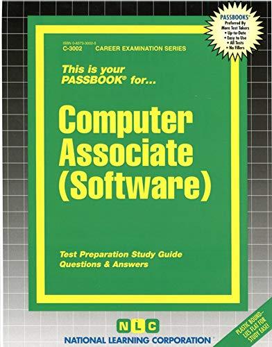 9780837330020: Computer Associate (Software)(Passbooks)