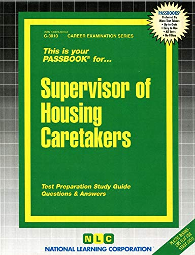9780837330105: Supervisor of Housing Caretakers(Passbooks)