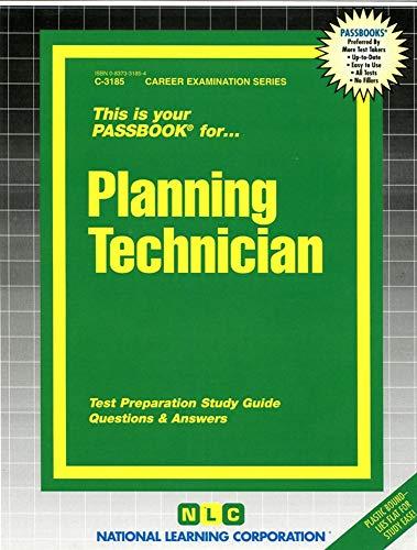 9780837331850: Planning Technician(Passbooks) (Career Exam. Ser. C-3185)