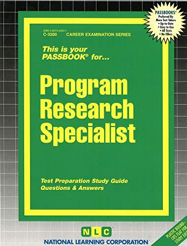 9780837332000: Program Research Specialist