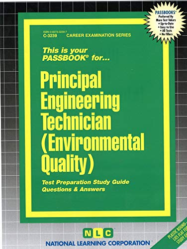 9780837332390: Principal Engineering Technician (Environmental Quality)(Passbooks)