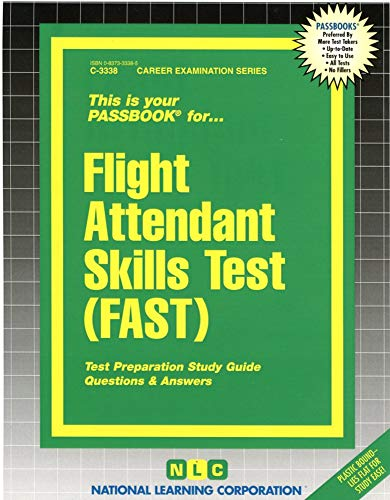 9780837333380: Flight Attendant Skills Test (FAST)(Passbooks) (English and French Edition)