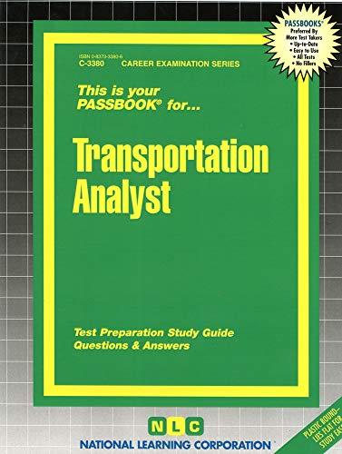 9780837333809: Transportation Analyst(Passbooks) (Career Exam Ser C-3380)