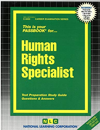 9780837334530: Human Rights Specialist(Passbooks) (Career Examination Series)