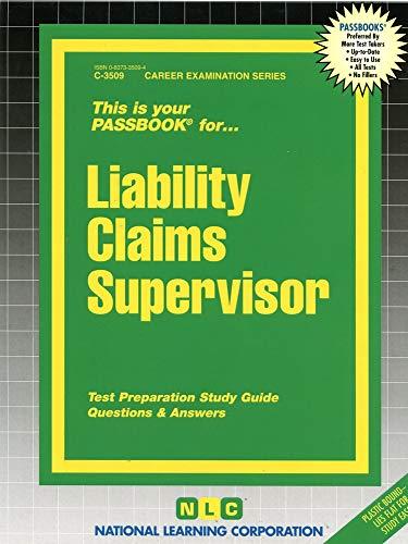 9780837335094: Liability Claims Supervisor(Passbooks)