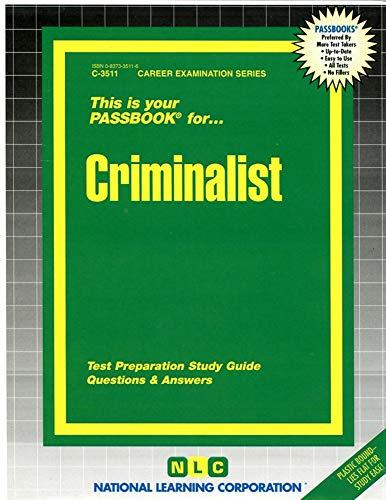 9780837335117: Criminalist
