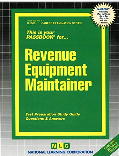 9780837335803: Revenue Equipment Maintainer(Passbooks) (Career Examination Passbooks)