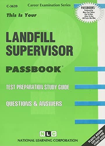 9780837336398: Landfill Supervisor(Passbooks) (Career Examination Passbooks)