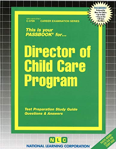 9780837337098: Director of Child Care Program(Passbooks)