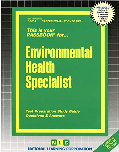 9780837337142: Environmental Health Specialist(Passbooks) (Passbook Series. Passbooks for Civil Service Examinations)