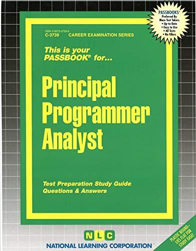 9780837337395: Principal Programmer Analyst(Passbooks) (Passbook for Career Opportunities)