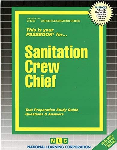 9780837337432: Sanitation Crew Chief(Passbooks) (The Passbook Series : Passbooks for Career Opportunities)