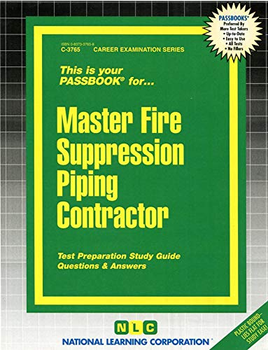 Master Fire Suppression Piping Contractor: Jack Rudman