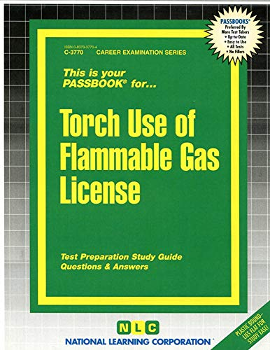 Torch Use of Flammable Gases License: Jack Rudman