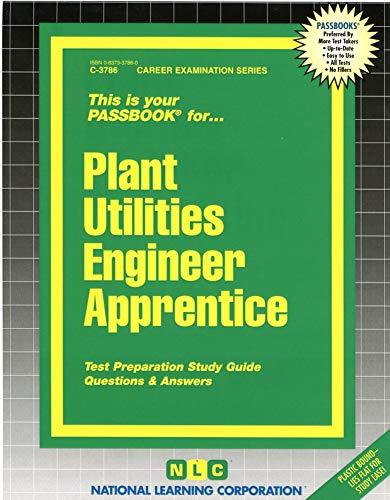 9780837337869: Plant Utilities Engineer Apprentice(Passbooks) (Career Examination Series)