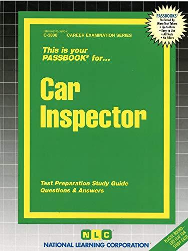 9780837338002: Car Inspector(Passbooks)