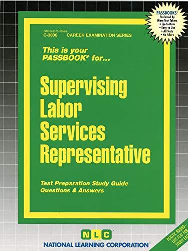 9780837338064: Supervising Labor Services Representative(Passbooks) (Career Examination Series)