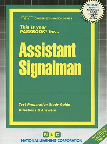 9780837338323: Assistant Signalman (Career Examination Passbooks)