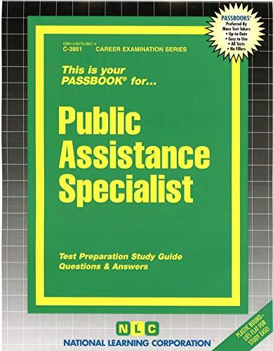 9780837338514: Public Assistance Specialist(Passbooks)