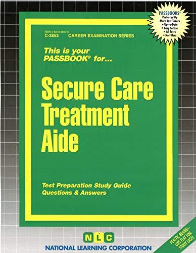 9780837338538: Secure Care Treatment Aide(Passbooks)