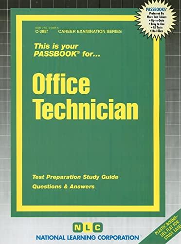 9780837338811: Office Technician(Passbooks) (Career Examination Passbooks)