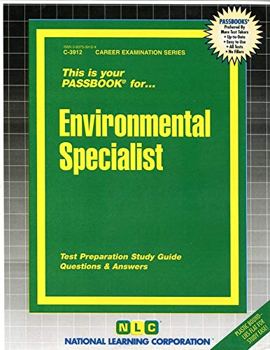 9780837339122: Environmental Specialist(Passbooks) (Career Examination Passbooks)