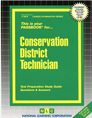 9780837339184: Conservation District Technician(Passbooks)