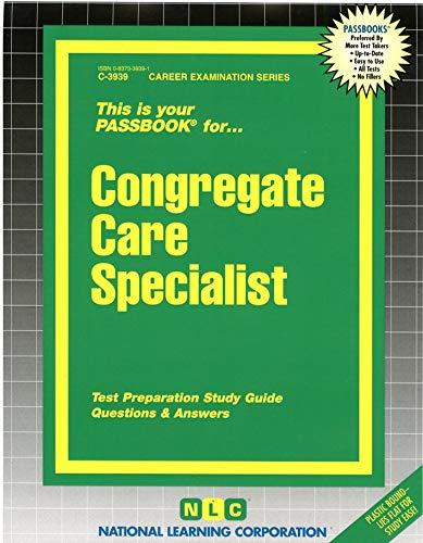 Congregate Care Specialist: Jack Rudman, National