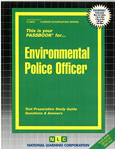 9780837339450: Environmental Police Officer(Passbooks)
