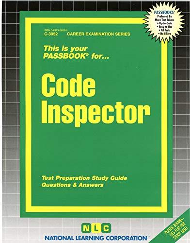 9780837339528: Code Inspector(Passbooks) (Career Examination Passbooks)