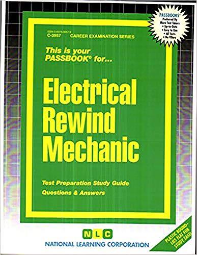9780837339573: Electrical Rewind Mechanic(Passbooks)