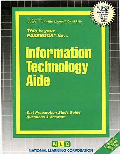 9780837339900: Information Technology Aide(Passbooks)