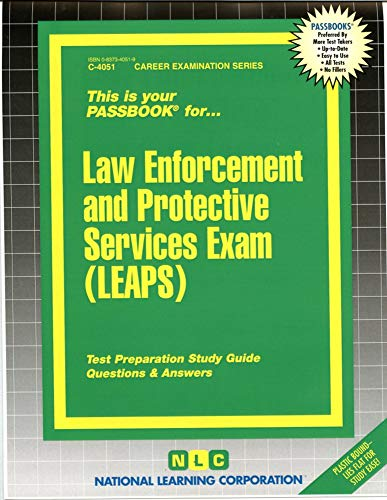 9780837340517: Law Enforcement and Protective Services Exam (LEAPS)(Passbooks) (Career Examination Passbooks)