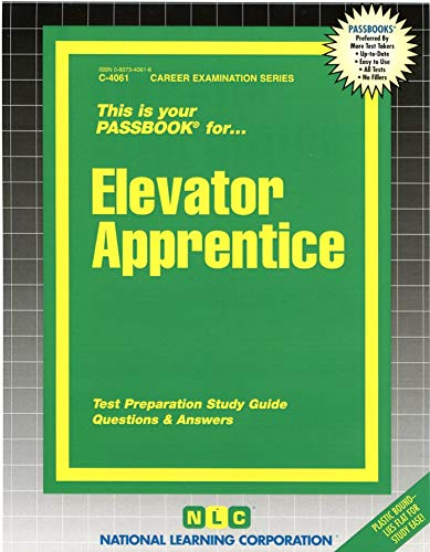 9780837340616: Elevator Apprentice(Passbooks)