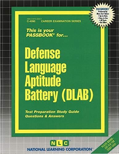 Defense Language Aptitude Battery (DLAB)(Passbooks): Jack Rudman