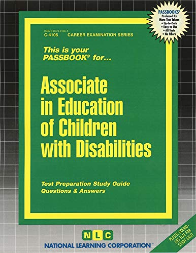 9780837341064: Associate in Education of Children with Disabilities(Passbooks)