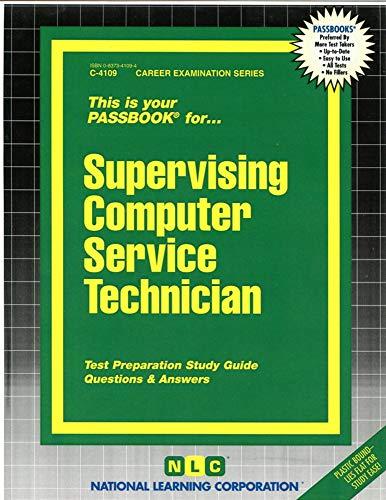 9780837341095: Supervising Computer Service Technician(Passbooks) (Career Examination Passbooks)