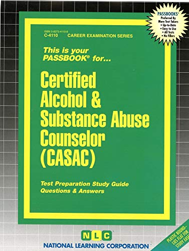 9780837341101: Certified Alcohol & Substance Abuse Counselor (Casac)