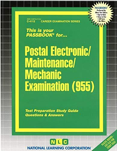 9780837341125: Postal Electronic/Maintenance/Mechanic Examination(Passbooks)