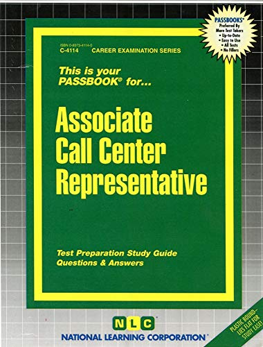 9780837341149: Call Center Representative (Career Examination Passbooks)