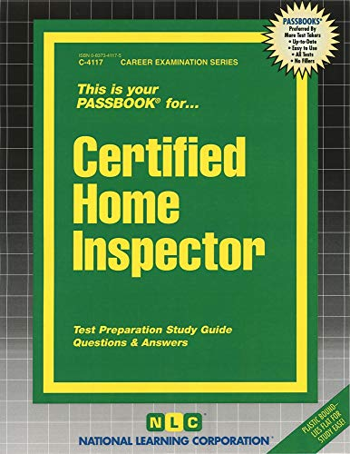 9780837341170: Certified Home Inspector(Passbooks)