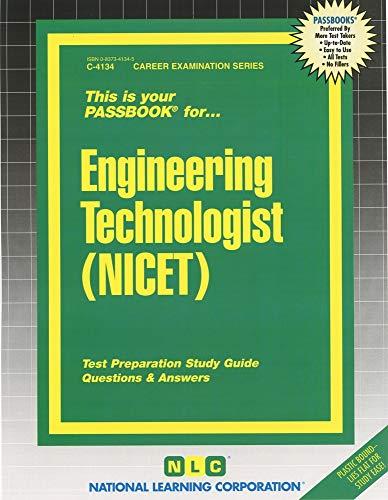 9780837341347: Engineering Technologist (NICET)(Passbooks)