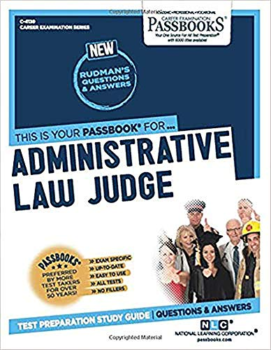 9780837341392: Administrative Law Judge(Passbooks)