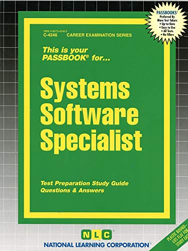9780837342467: Systems Software Specialist(Passbooks)