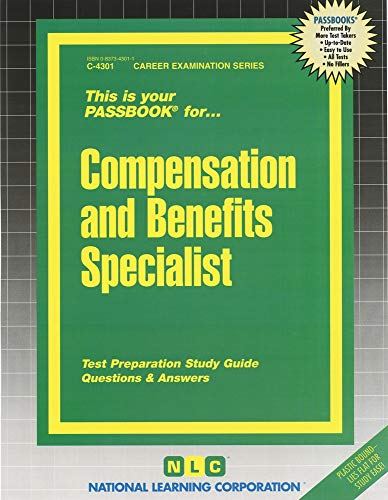 9780837343013: Compensation and Benefits Specialist