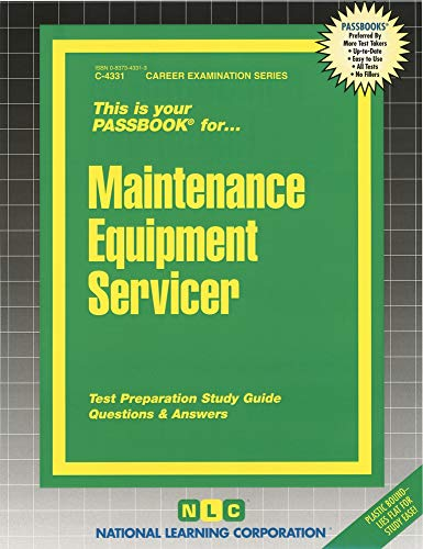 Maintenance Equipment Servicer: Rudman, Jack
