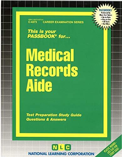 Medical Records Aide: Rudman, Jack