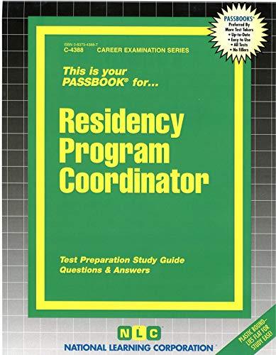 Residency Program Coordinator: Rudman, Jack
